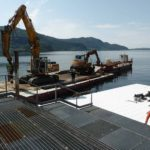 Realizzazione The Floating Piers