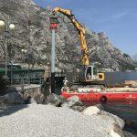 Manutenzione porti e pontili Navigarda